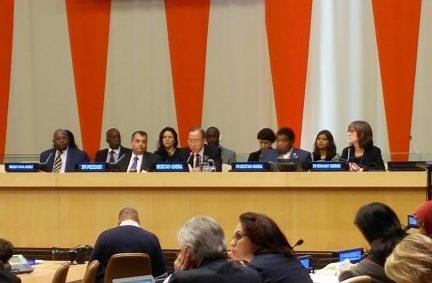 IPU President Chowdhury and UNSG Ban open the Hearing