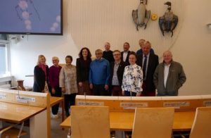 APPG for the Polar Regions with the Speaker of Inatsisartut and Members of the Presidium