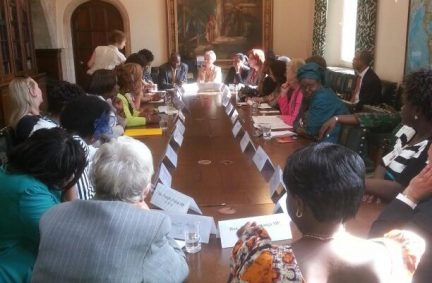 Parliamentarians engage in a roundtable on ending sexual violence in conflict