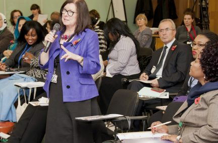 Roberta Balckman-Woods MP, Conference Chair