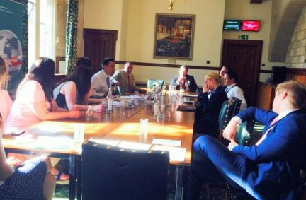 UK members hear outcomes of recent IPU global conferences on youth