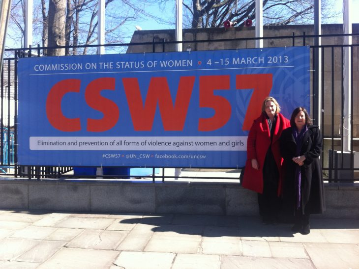 Roberta Blackman-Woods MP & Mary Macleod MP attended CSW57 for BGIPU