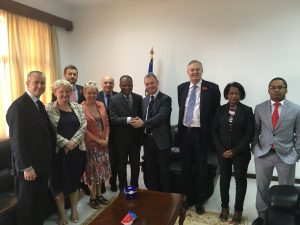 BGIPU Chair and UK delegation paid a call on the Prime Minister of Cabo Verde, Dr Ulisses Correia e Silva