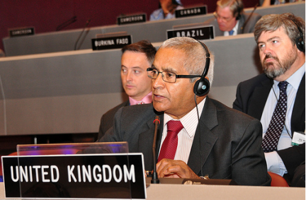 Lord Dholakia delivers UK statement on chemical weapons