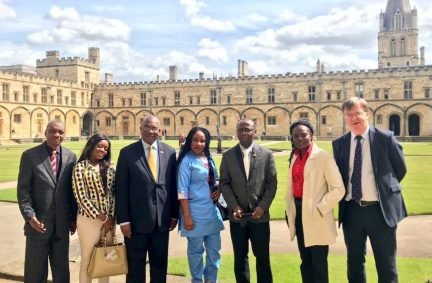 Cross-party parliamentary delegation from Liberia visit Christ Church Oxford