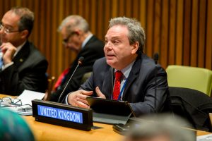 Ian Lucas MP participated in the UN Parliamentary Hearing at the UN in New York on behalf of BGIPU