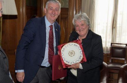 UK Deputy Speaker Rt Hon Lindsay Hoyle MP meets Uruguay Senator Topolansky