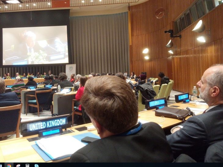 UN Secretary-General António Guterres delivered a keynote address to some 240 MPs from 40 countries.