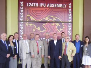 UK Delegation to the 134th IPU Assembly in Panama led by BGIPU Chair Robert Walter MP