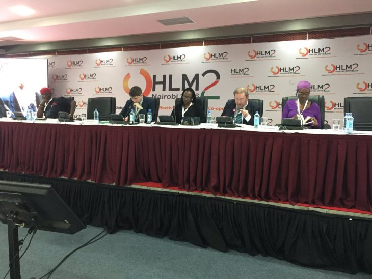 Lord Chidgey also participated in HLM2 activities in his capacity as Political Coordinator of AWEPA