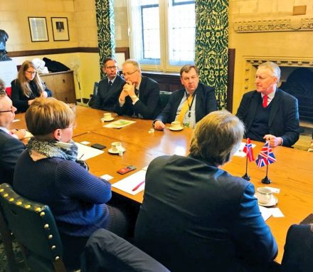Delegation from Norway meets Chair and members of the Exiting the EU Committee.JPG