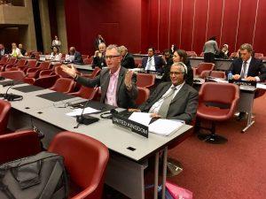 Nigel Evans MP speaks at IPU 138 in support of debate on defending LGBTI people from discrimination