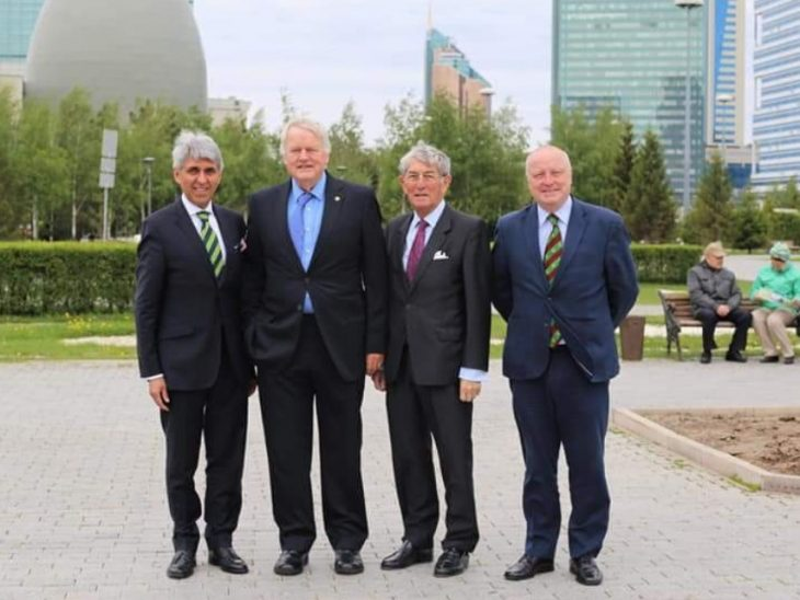 Three members of the All Party Parliamentary Group for Kazakhstan visited the country's twenty-year-old capital city from Tuesday 29 May until Saturday 2 June. The delegation comprised Stephen Hepburn (MP for Jarrow, Labour), Lord Rogan (Cross Bencher) and the Chairman of the APPG for Kazakhstan, Bob Stewart (MP for Beckenham; Conservative).