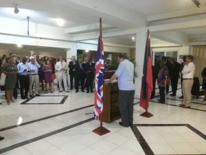 APPG Chair, Lord Griffiths addresses parliamentarians, UK expatriates and international community in Port au Prince