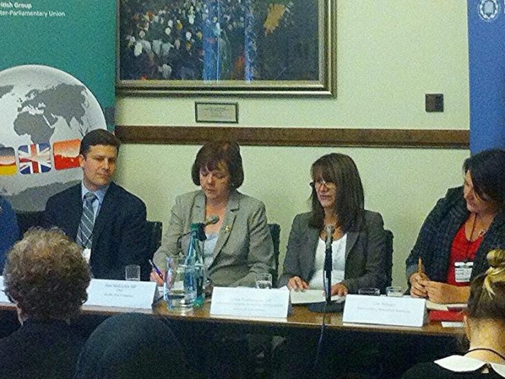 The panel comprised some of the key contributors on WPS issues in the UK