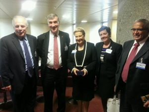 UK Delegates with Australian counterparts