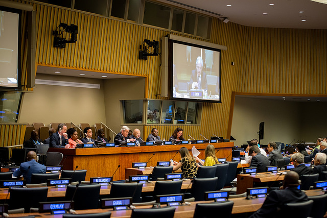 Speaker of the House of Commons participates in a panel on Parliamentary Oversight on 1 September at the UN in New York