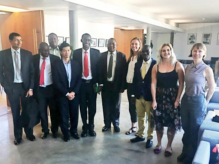 Parliamentary staff, including BGIPU staff from the UK, learned about the structure and functioning of the IPU
