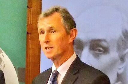 The UK delegation will be led by BGIPU Chair, Nigel Evans MP