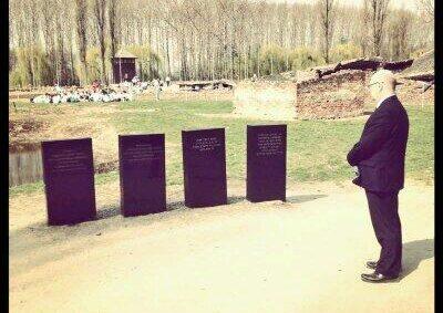 BGIPU Chair pays respects at Auschwith-Birkenau