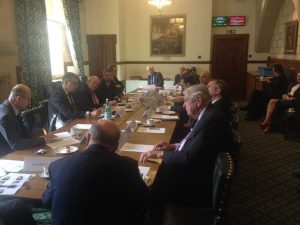 Participants included UK MPs, Peers and Ambassadors from the region
