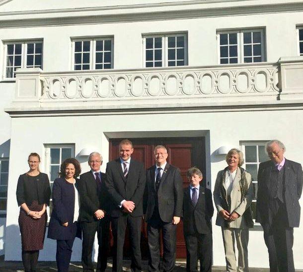 UK Delegation meet the President of Iceland