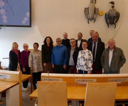 APPG for the Polar Regions with the Speaker of Inatsisartut and Members of the Presidium.JPG