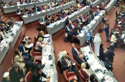 The 135th IPU Assembly debated human rights as a precursor to conflict and the war and humanitarian situation in Syria, particularly Aleppo