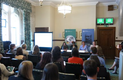Participants hear from Panel on VAW in Politics