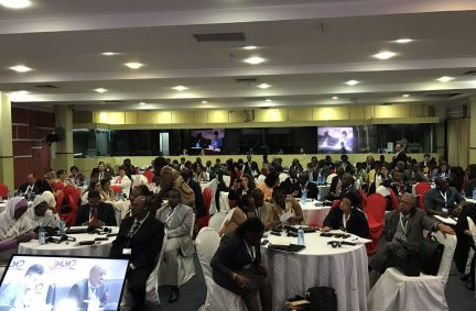 Parliamentarians from many developed and developing countries attended the Parliamentary Forum at HLM2