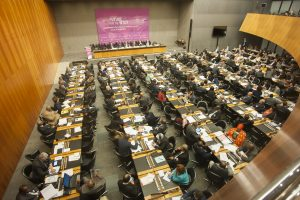 More than 400 parliamentary delegates from around 60 countries attended the Parliamentary Conference on the WTO