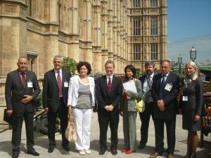New BGIPU Chair, Nigel Evans MP, then Deputy Speaker, meets delegation from Bosnia-Herzegovina in June 2012