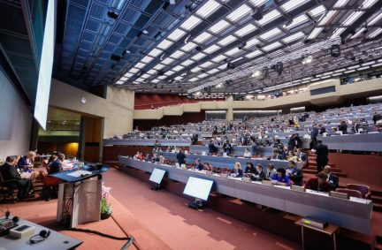 The 138th IPU Assembly will be held at the CICG in Geneva from 24-28 October 2018