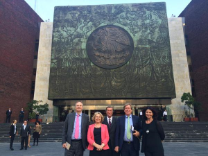 UK delegation led by Rt Hon Sir Simon Burns MP visits the Mexican Chamber of Deputies