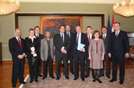 BGIPU delegation with Members of the EU Integration and Foreign Affairs committees of the Croatian Sabor