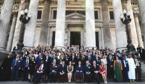 Some 220 MPs from 56 countries attended the Parliamentary Conference on the WTO in Buenos Aires