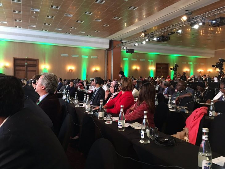 MPs from across the world gathered in Marrakech as part of COP22