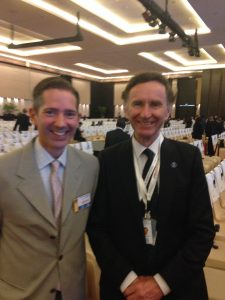Jonathan Djanogly MP with Minister of State for Trade and Investment Lord Green