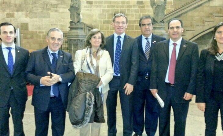 Uruguay delegation tour Palace of Westminster with Chris Bryant MP