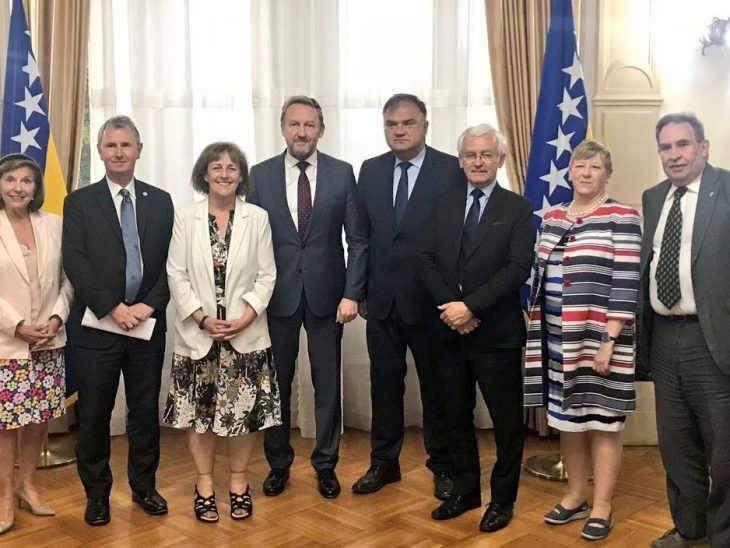 UK delegation meet two of the three-member Presidency of Bosnia and Herzegovina