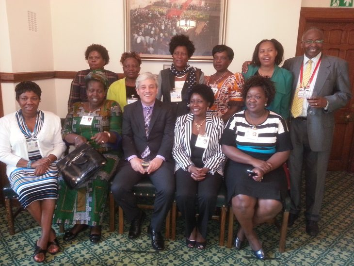 Speaker of the House of Commons, Rt Hon John Bercow MP, meets parliamentary delegates