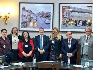 Foreign Affairs Committee Chair, Tom Tugendhat MP meets with counterparts from the Kosovo Foreign Affairs Committee