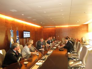 UK delegation meets with YPF CEO, Mr Galuccio