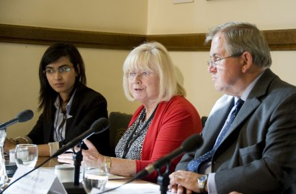 Rt Hon Ann Clwyd MP addressing the room