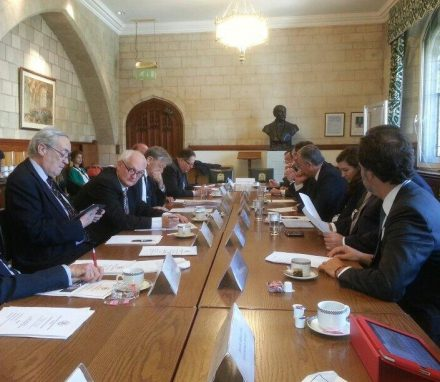 Roundtable with UK counterparts