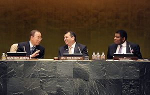 The IPU and the UN enjoy strong cooperation including through Annual Hearings held each year at UN Headquarters