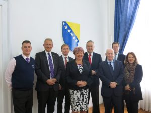 From 30 September – 4 October a UK Parliamentary delegation visited Bosnia and Herzegovina hosted by the Parliament of BiH, followed a visit of the Bosnian IPU Group to the UK in June 2012.