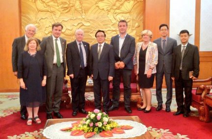 UK Delegation meets the Chairman of the Commission for External Relations of the Central Committee of the Communist Party of Vietnam