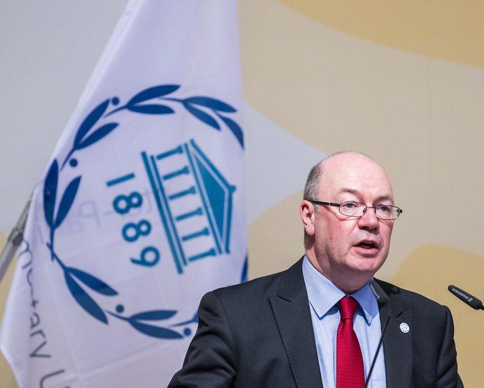 The BGIPU Chair, Rt Hon Alistair Burt MP speaks at 130th IPU Assembly in Geneva