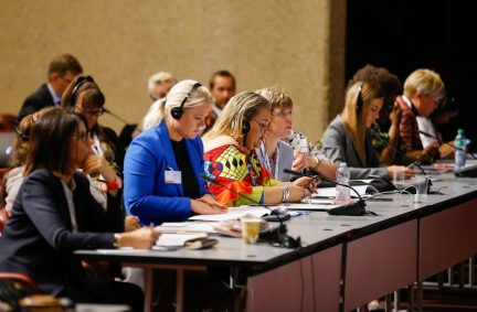 Women MPs play an important role in cooperation with male colleagues to keep gender issues to the fore of the IPU